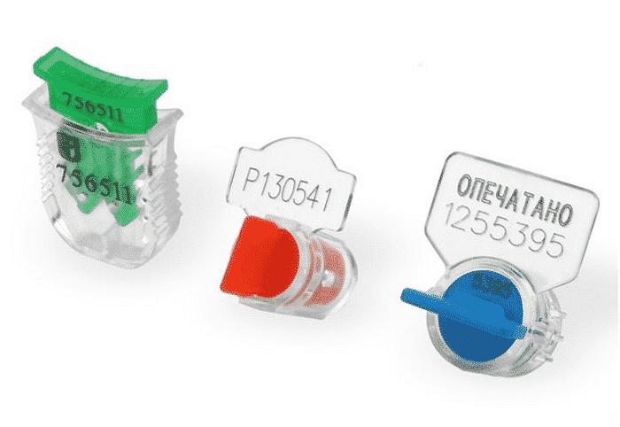 пломба пластик