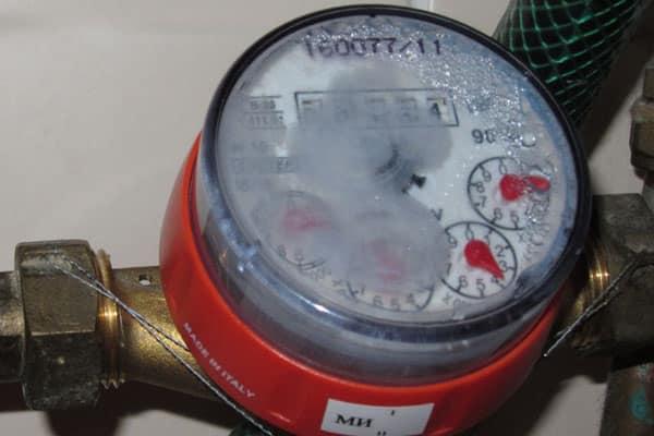 разгерметизация корпуса водомера