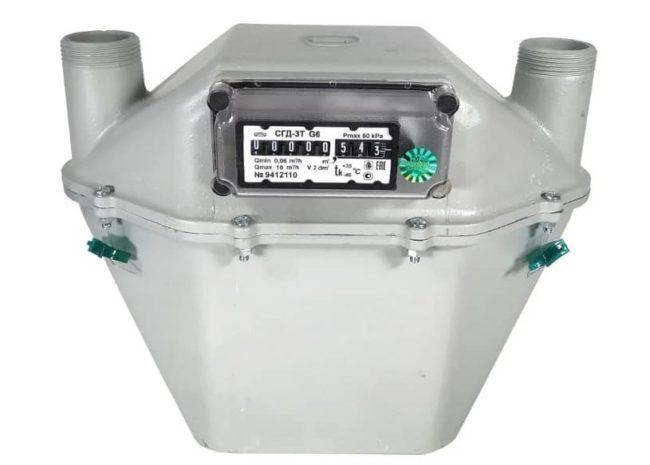 мембранный газомер СГД-3Т-G6