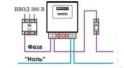схема подключения фаза2