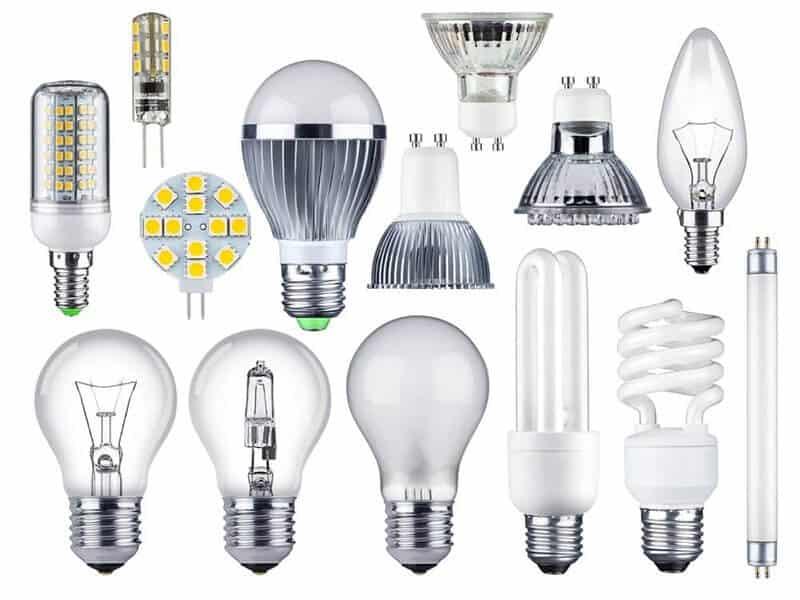 виды лампочек и их энергоэффективность