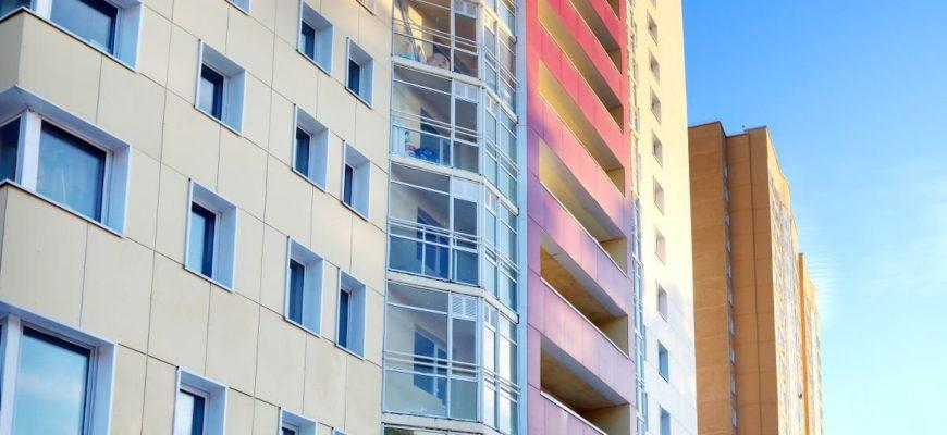 балконы и общая квадратура жилья